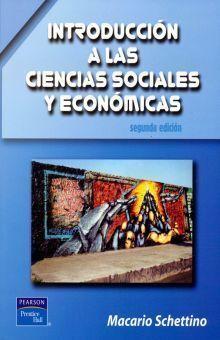 INTRODUCCIÓN A LAS CIENCIAS SOCIALES Y ECONÓMICAS