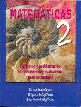 MATEMATICAS 2 EJERCICIOS Y PROBLEMAS SECUNDARIA