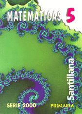 MATEMÁTICAS 5 PRIMARIA SERIE 2000