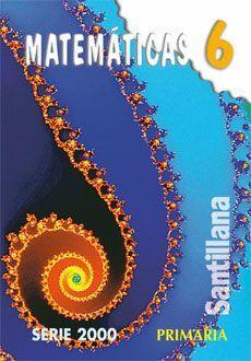 MATEMÁTICAS 6 PRIMARIA SERIE 2000