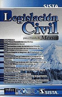 LEGISLACIÓN CIVIL PARA EL ESTADO DE MÉXICO