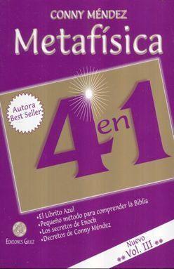 METAFÍSICA 4 EN 1 VOLUMEN III
