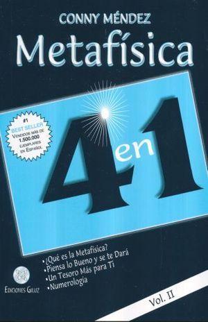 METAFÍSICA 4 EN 1 VOLUMEN II