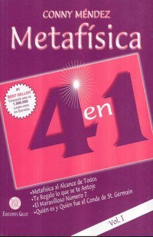 METAFÍSICA 4 EN 1 VOLUMEN I